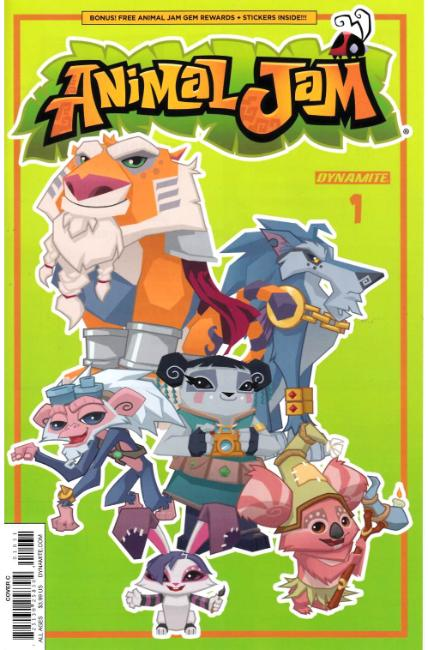 Animal Jam #1 Cover C [Dynamite Comic] THUMBNAIL