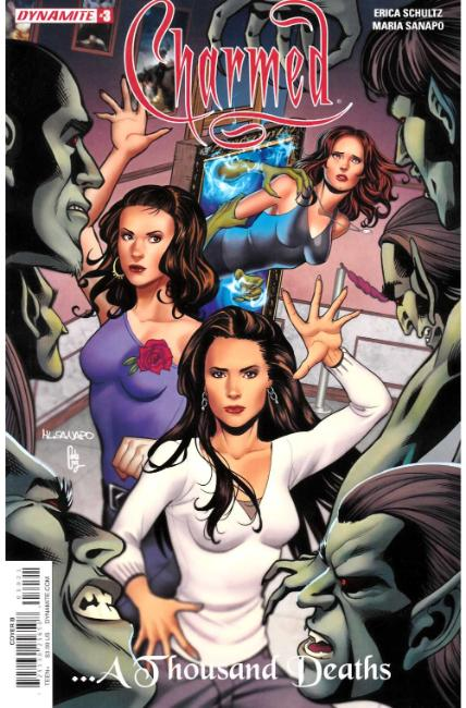 Charmed #3 Cover B [Dynamite Comic]_LARGE