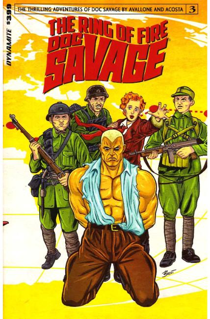 Doc Savage Ring of Fire #3 Cover A [Dynamite Comic]