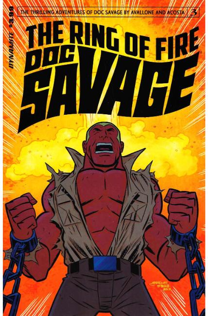 Doc Savage Ring of Fire #3 Cover B [Dynamite Comic] THUMBNAIL