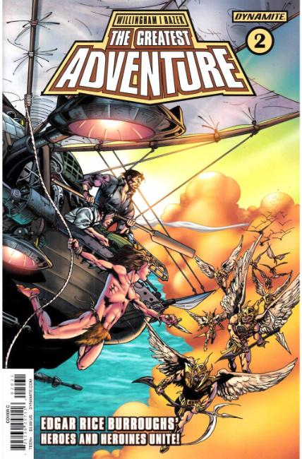 Greatest Adventure #2 Cover C [Dynamite Comic] LARGE