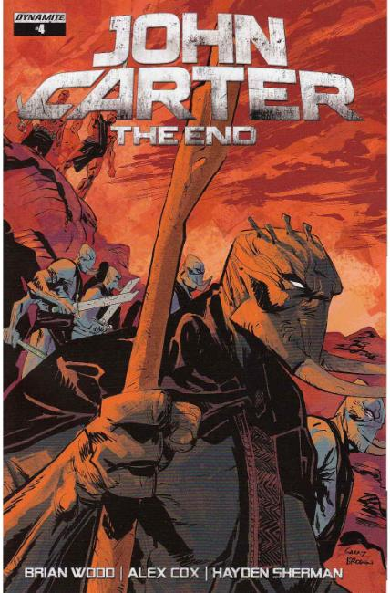 John Carter the End #4 Cover A [Dynamite Comic] LARGE