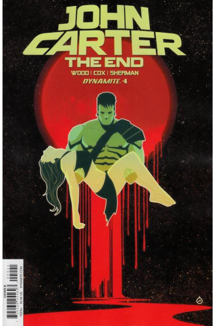 John Carter the End #4 Cover B [Dynamite Comic] THUMBNAIL