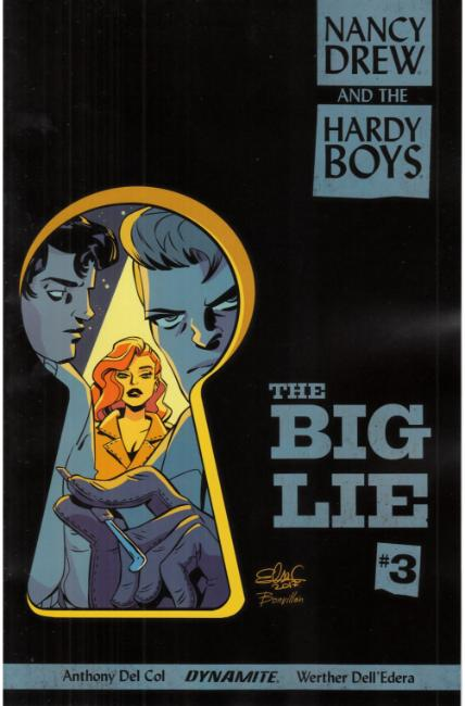Nancy Drew Hardy Boys #3 Cover B [Dynamite Comic] THUMBNAIL