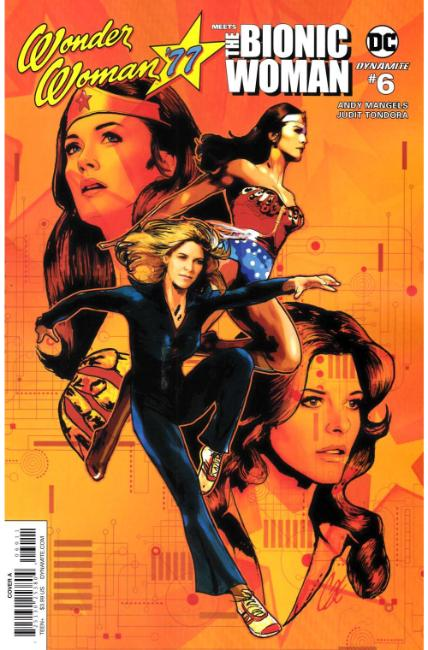 Wonder Woman 77 Bionic Woman #6 Cover A [Dynamite Comic] THUMBNAIL
