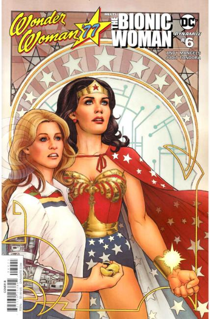 Wonder Woman 77 Bionic Woman #6 Cover B [Dynamite Comic] THUMBNAIL