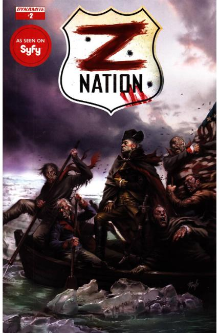 Z Nation #2 Cover B [Dynamite Comic] THUMBNAIL