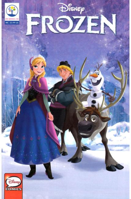 Disney Frozen #8 [Joe Books Comic]