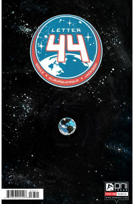 Letter 44 #33 [Oni Press Comic] THUMBNAIL