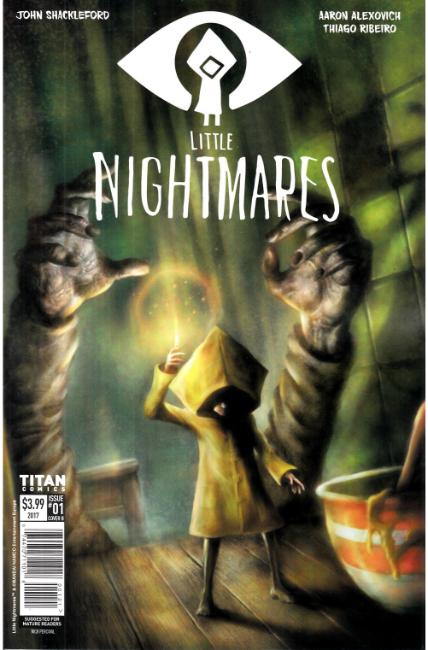 Little Nightmares #1 Cover B [Titan Comic]
