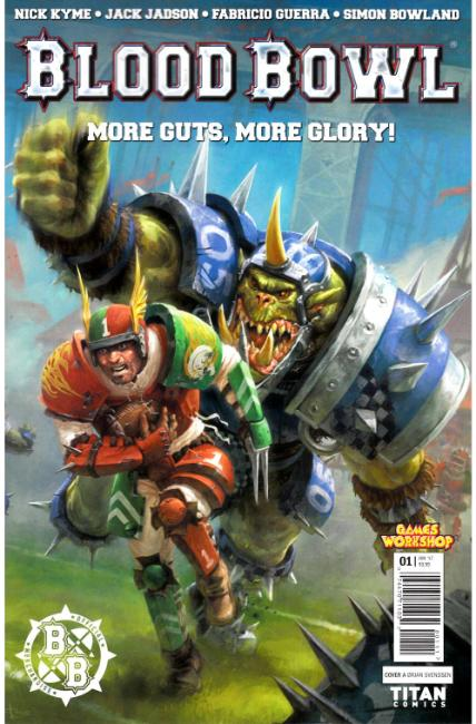 Blood Bowl More Guts More Glory #1 Cover A [Titan Comic] THUMBNAIL