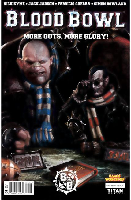 Blood Bowl More Guts More Glory #1 Cover B [Titan Comic] THUMBNAIL