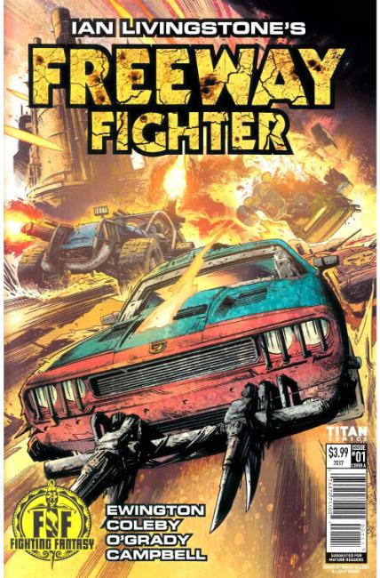 Ian Livingstones Freeway Fighter #1 Cover A [Titan Comic]_THUMBNAIL
