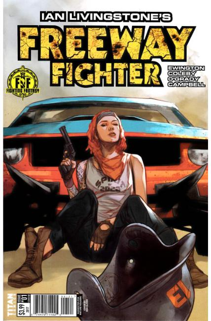 Ian Livingstones Freeway Fighter #1 Cover B [Titan Comic]_THUMBNAIL