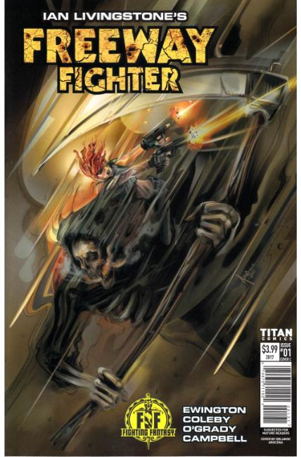 Ian Livingstones Freeway Fighter #1 Cover C [Titan Comic]_THUMBNAIL