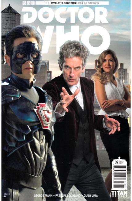 Doctor Who Ghost Stories #2 Cover B [Titan Comic] THUMBNAIL