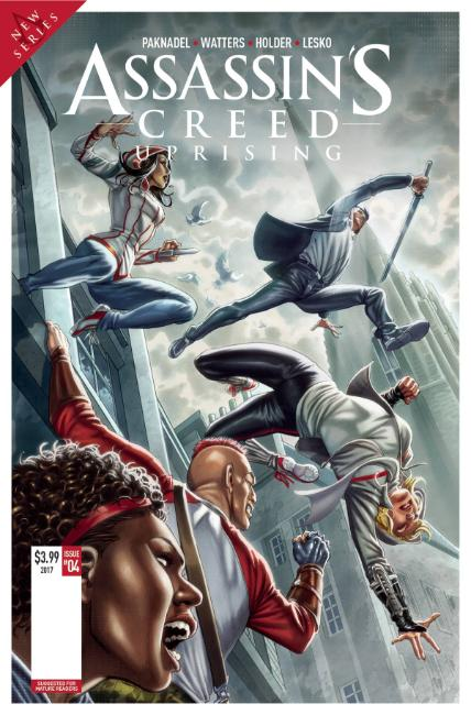 Assassins Creed Uprising #5 Cover A [Titan Comic] THUMBNAIL