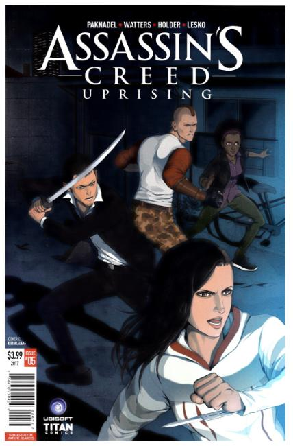 Assassins Creed Uprising #5 Cover C [Titan Comic] THUMBNAIL