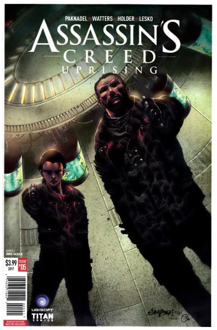 Assassins Creed Uprising #5 Cover E [Titan Comic] THUMBNAIL