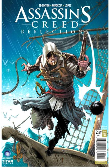 Assassins Creed Reflections #3 Cover B [Titan Comic] LARGE
