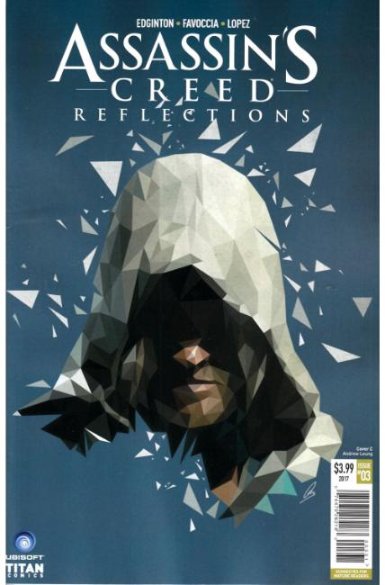 Assassins Creed Reflections #3 Cover C [Titan Comic]