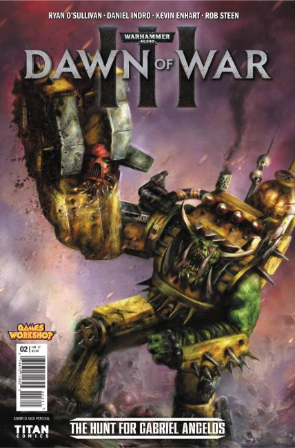 Warhammer 40000 Dawn of War III #2 Cover D [Titan Comic]