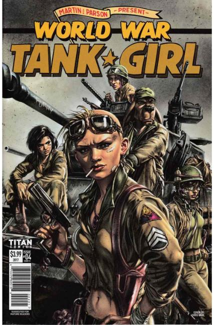 Tank Girl World War Tank Girl #4 Cover B [Titan Comic]_THUMBNAIL