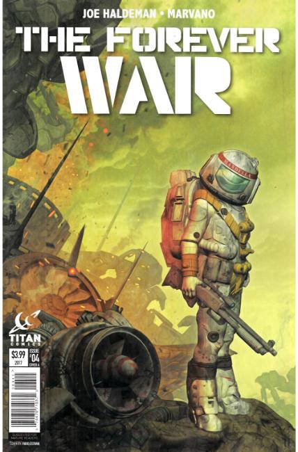 Forever War #4 Cover A [Titan Comic] THUMBNAIL