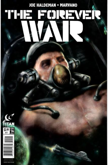 Forever War #4 Cover B [Titan Comic] THUMBNAIL