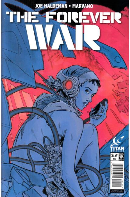 Forever War #4 Cover C [Titan Comic] THUMBNAIL
