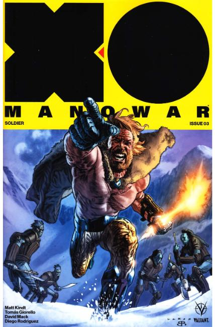 X-O Manowar #3 Cover A [Valiant Comic] LARGE