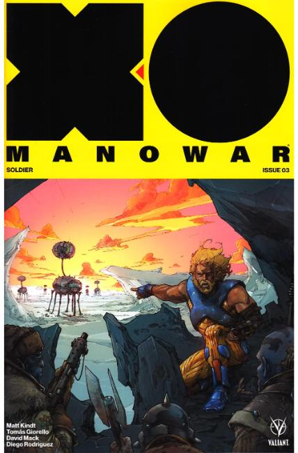 X-O Manowar #3 Cover B [Valiant Comic] THUMBNAIL