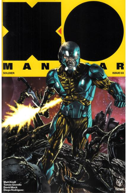 X-O Manowar #3 Cover C- Suayan Interlocking Variant [Valiant Comic] THUMBNAIL