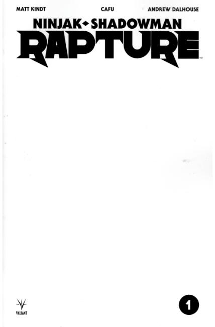 Rapture #1 Cover C- Blank [Valiant Comic] THUMBNAIL