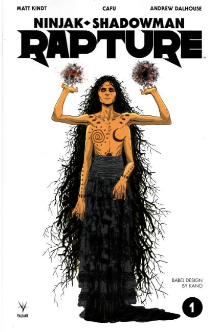 Rapture #1 Cover E- Kano Character Design Variant [Valiant Comic] THUMBNAIL