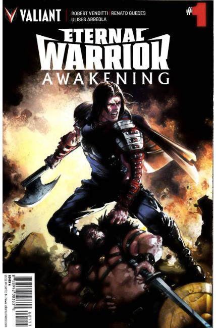 Eternal Warrior Awakening #1 Cover A [Valiant Comic] LARGE