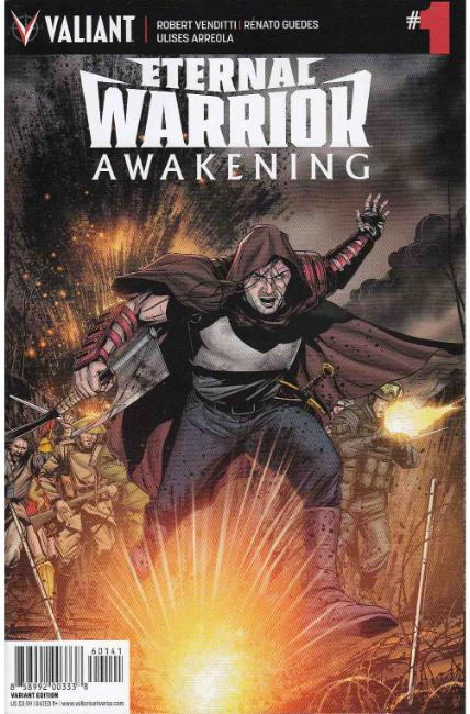 Eternal Warrior Awakening #1 Cover D- Laming Variant [Valiant Comic] THUMBNAIL