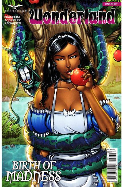 GFT Wonderland Birth of Madness Cover D [Zenescope Comic] LARGE