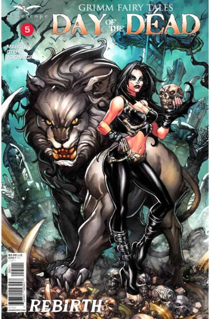 GFT Day of the Dead #5 Cover A [Zenescope Comic] LARGE