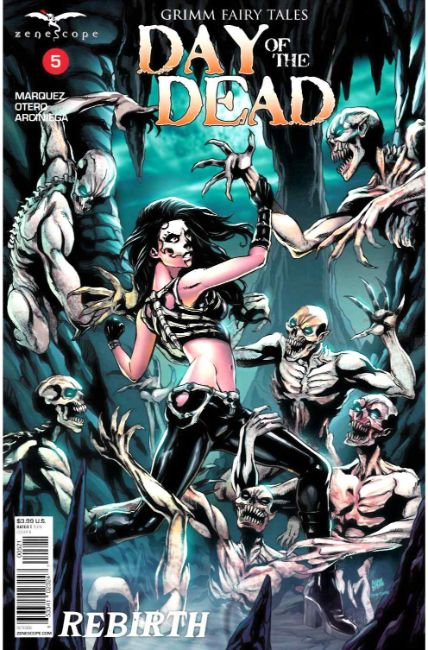 GFT Day of the Dead #5 Cover B [Zenescope Comic]