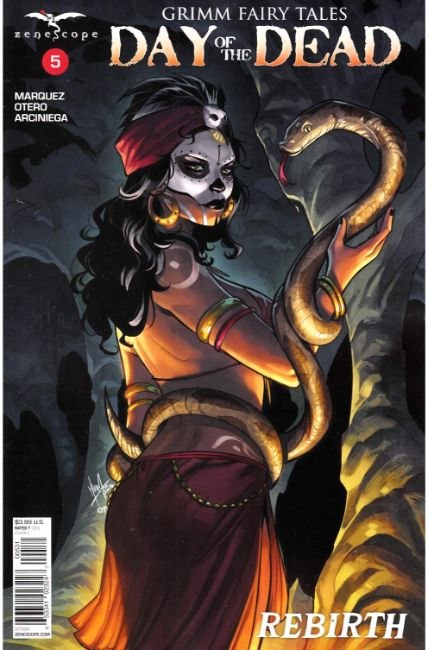 GFT Day of the Dead #5 Cover C [Zenescope Comic]