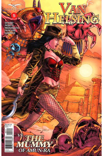 GFT Van Helsing vs the Mummy of Amun Ra #5 Cover A [Zenescope Comic]_LARGE