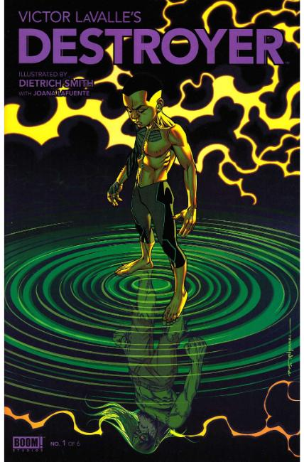 Victor Lavalle Destroyer #1 FOC Stelfreeze Cover [Boom Comic]