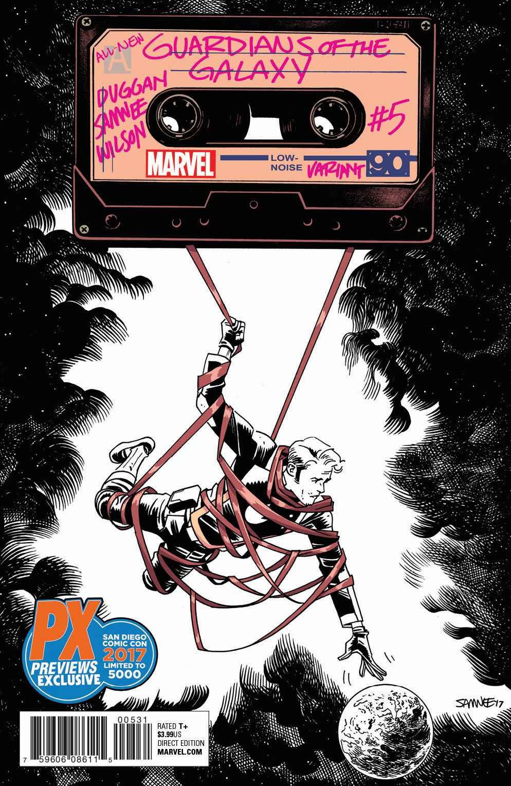 All New Guardians of the Galaxy #5 SDCC 2017 Previews Exclusive Cover [Marvel Comic]_LARGE