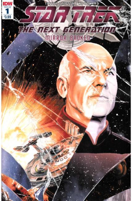 Star Trek TNG Mirror Broken #1 Second Printing [IDW Comic] THUMBNAIL