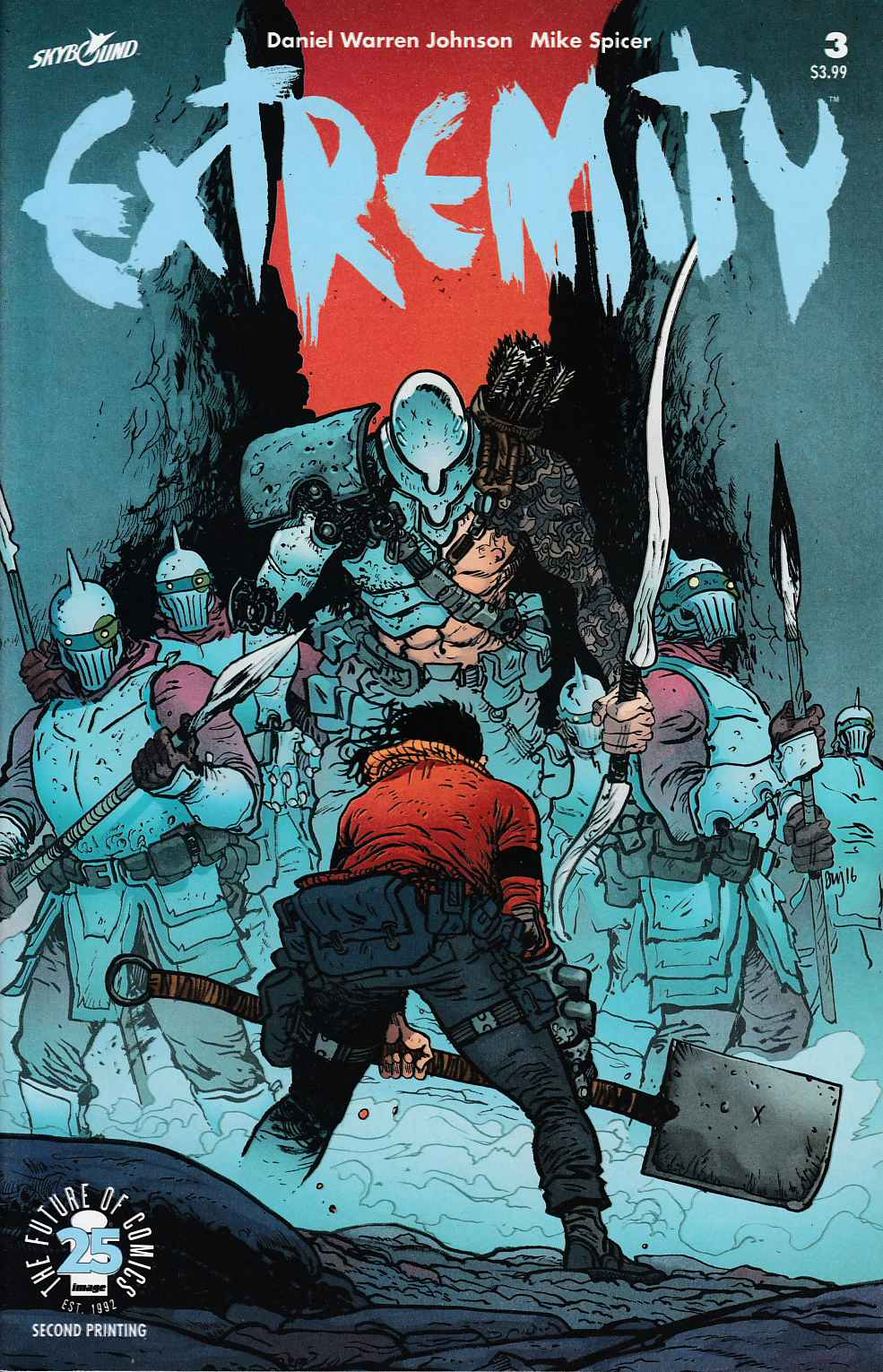 Extremity #3 Second Printing Very Fine (8.0) [Image Comic] THUMBNAIL