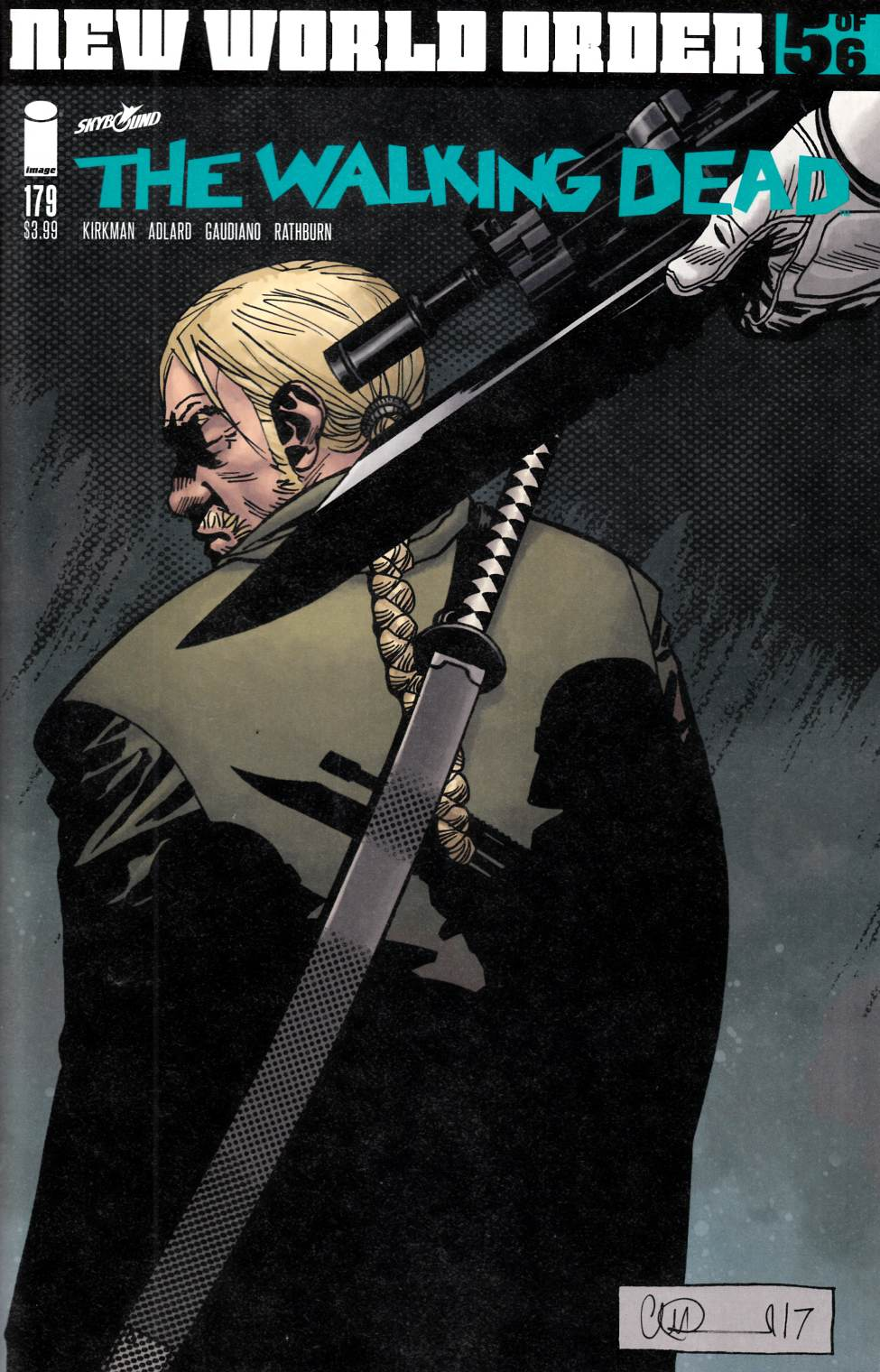 Walking Dead #179 Cover A [Image Comic]