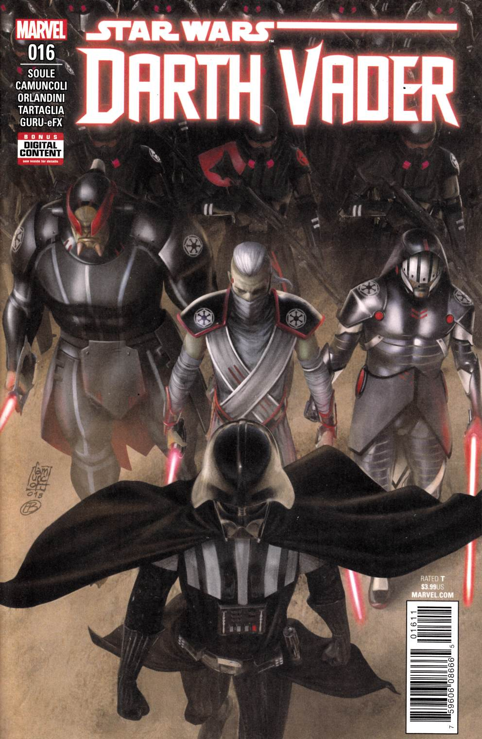 Star Wars Darth Vader #16 Near Mint (9.4) [Marvel Comic] LARGE