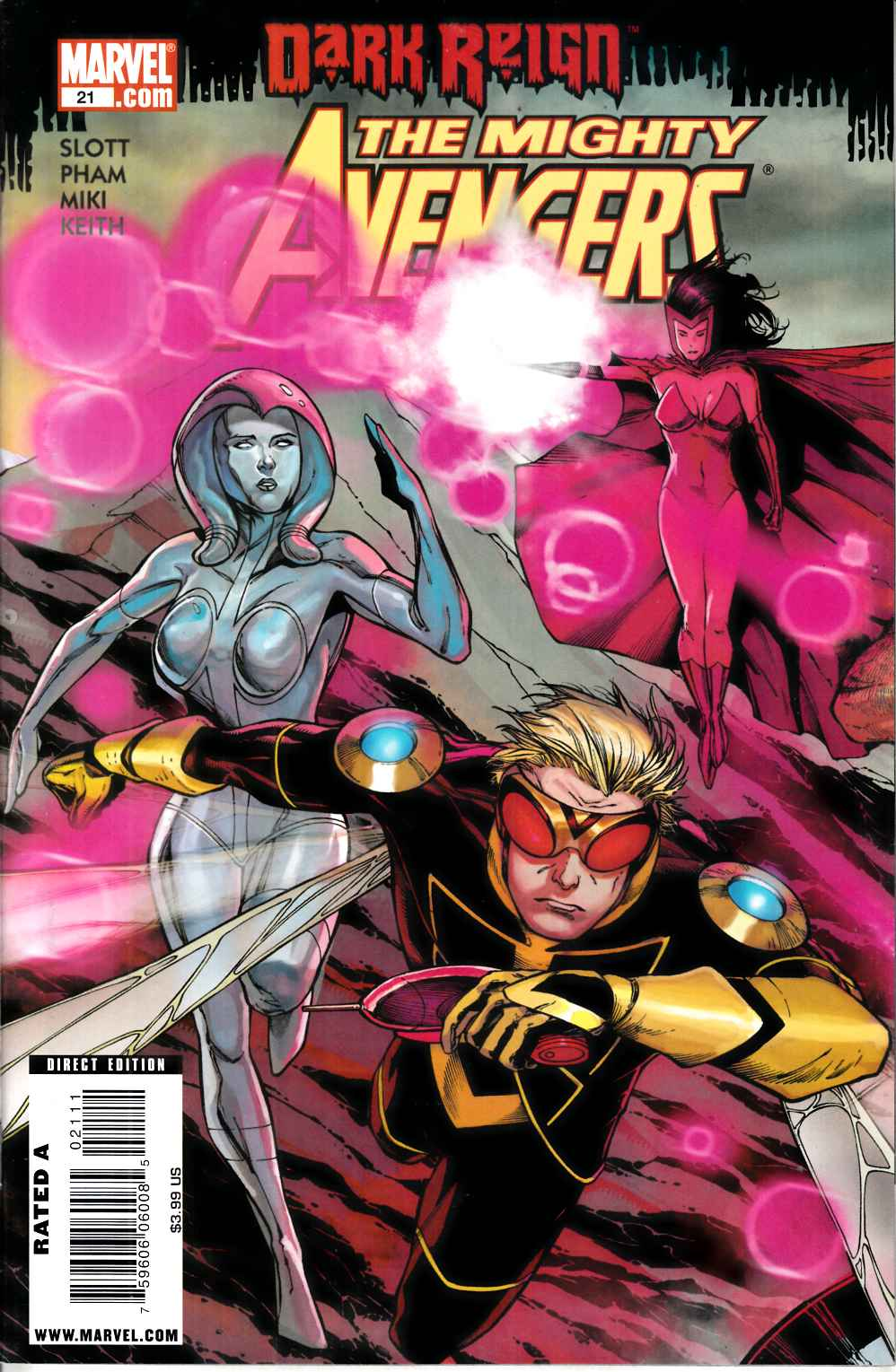 Mighty Avengers #21 Near Mint (9.4) [Marvel Comic] THUMBNAIL