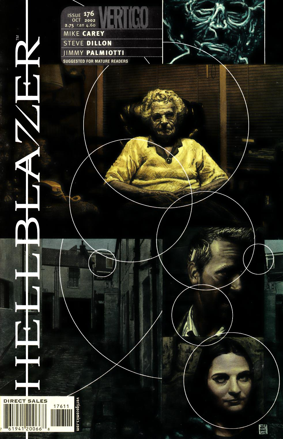 Hellblazer #176 Very Fine (8.0) [DC Comic] LARGE